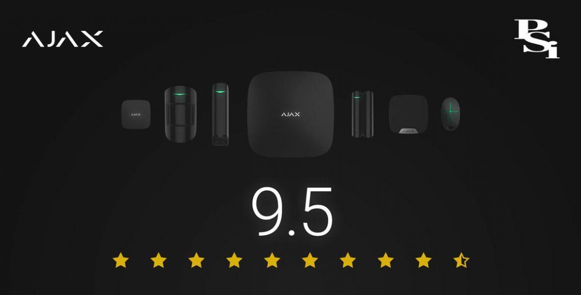 PSI Magazin bewertet Ajax im Produkttest mit 9,5/10 Punkten